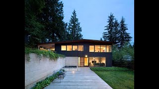 POST AND BEAM HOUSE RENOVATION ON WOODED RAVINE SITE