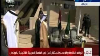 بالفيديو.. الملك سلمان يستقبل حاكم إمارة دبي