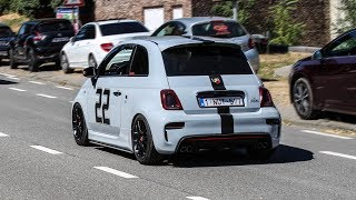 Abarth compilation - Sounds, accelerations, pops & bangs