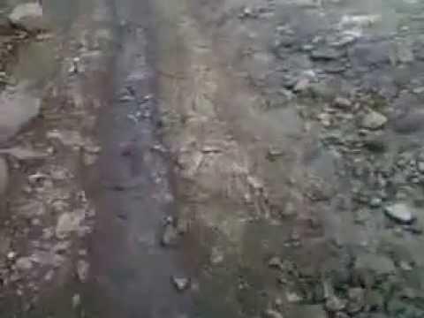 Jalan Palimanan - Dukupuntang Kab. Cirebon dibiarkan Rusak Parah