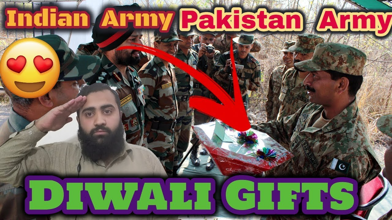 Pakistan React on Indian And Pakistan Army Diwali Gifts | AS Reactions