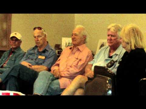 2011 High Chaparral Reunion, Henry Darrow talks about Cameron Mitchell