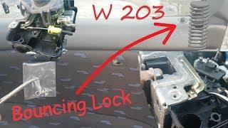Mercedes w203 - Door Lock Actuator - Removal and Spring Bounce Repair