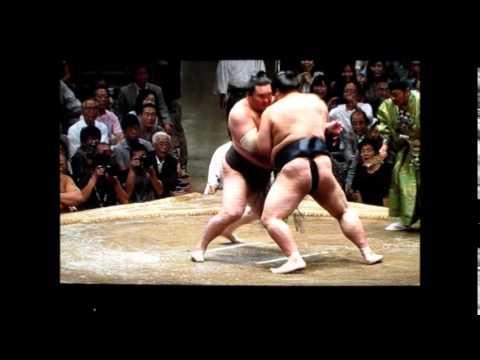 稀勢の里vs白鵬 平成27年大相撲...