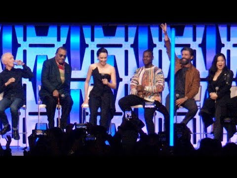 STAR WARS Episode 9 Celebration Panel - The Rise of Skywalker