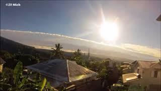 Magnifique time lapse formation nuageuse à la Réunion