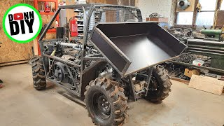 Dump Bed Fabrication - 4x4 Off-Road UTV Build Ep.26