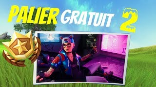 FREE PALIER WEEK 2 SEASON 7!! 👍😍 FORTNITE
