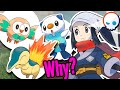 Why Oshawott, Rowlet, and Cyndaquil? 💦🍃🔥 Pokemon Legends Arceus   Gnoggin