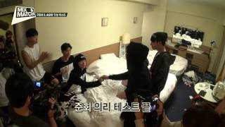 [UNRELEASED] MIX & MATCH EP.9 - Junhoe&Yunhyeong personality Test 믹스앤매치 미공개영상 구준회 & 송윤형 인성 테스트