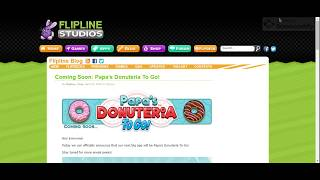 Coming Soon Papa's Donuteria To Go! « Preview « Flipline Studios Blog