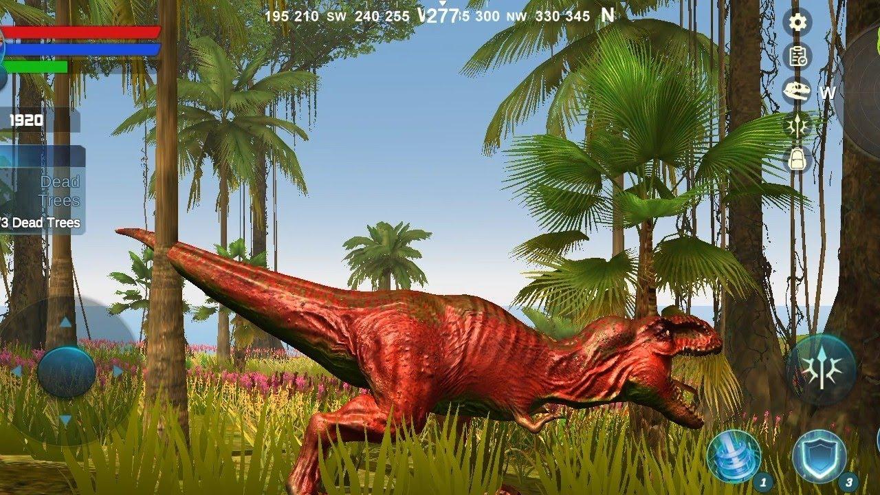 🦖 Tyrannosaurus Simulator Android Gameplay : The Best Dino Game | เกมไดโนเสาร์ทีเร็กซ์ต่อสู้ #9