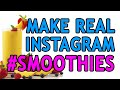 How to make a real smoothie from Instagram hashtags (Gray Bright - The Internet of Things)