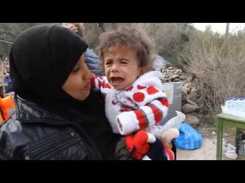 Baby Jude - Syrian Refugee - Lesbos Greece