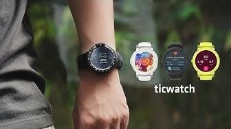 Trên tay Ticwatch E và S: Nhẹ, đẹp, giá 3.9tr, có nhịp tim, GPS
