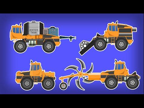 Трансформер трактор мультфильм