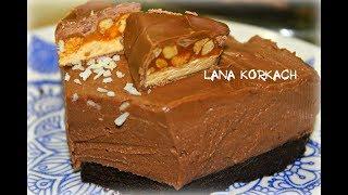 Потрясающий Шоколадный Чизкейк Без Выпечки/Рецепт/Cheesecake/Сhokolate /bez pieczenia