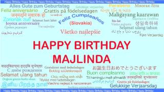 Majlinda   Languages Idiomas - Happy Birthday