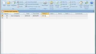 Free Overdue Debt Management Software
