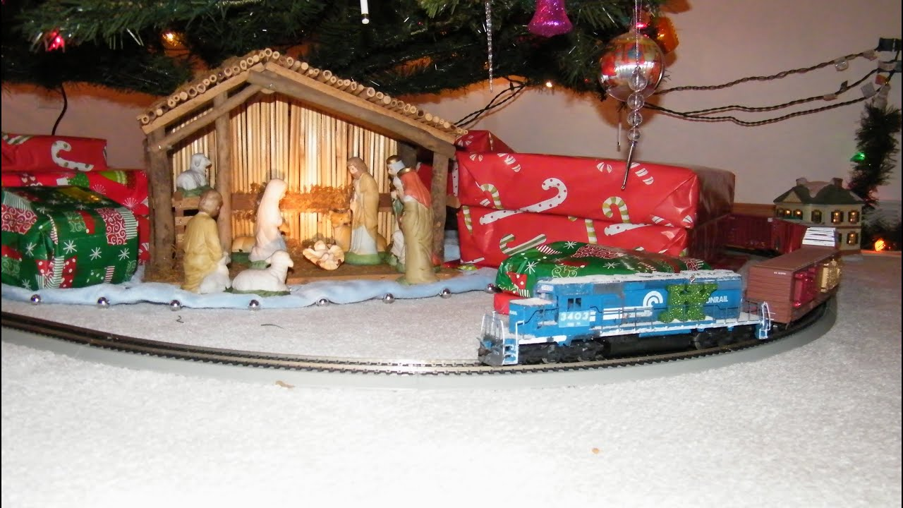 Ho Christmas Train.Ho Scale Christmas Train Special Around My Christmas Tree