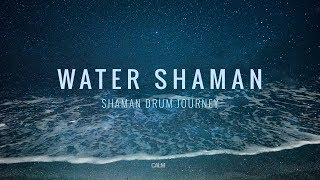 Water Shaman - Shaman Drum Journey & Koshi bells - Tantra Music | Calm Whale