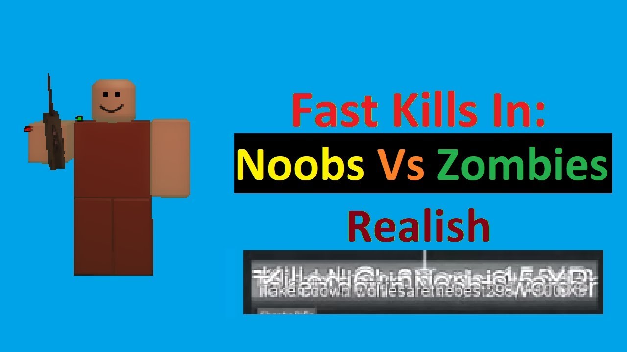 Roblox Noobs Vs Zombies Realish Guest Mode