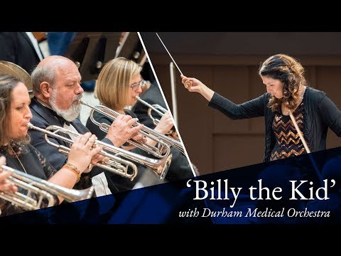 """""""Billy the Kid"""" performed by Durham Medical Orchestra"""