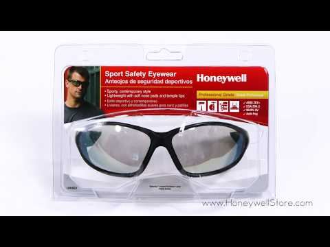Honeywell Uvex Seismic Sport Safety Eyewear With Black Frame And Indoor/Outdoor Lens (RWS-51042)