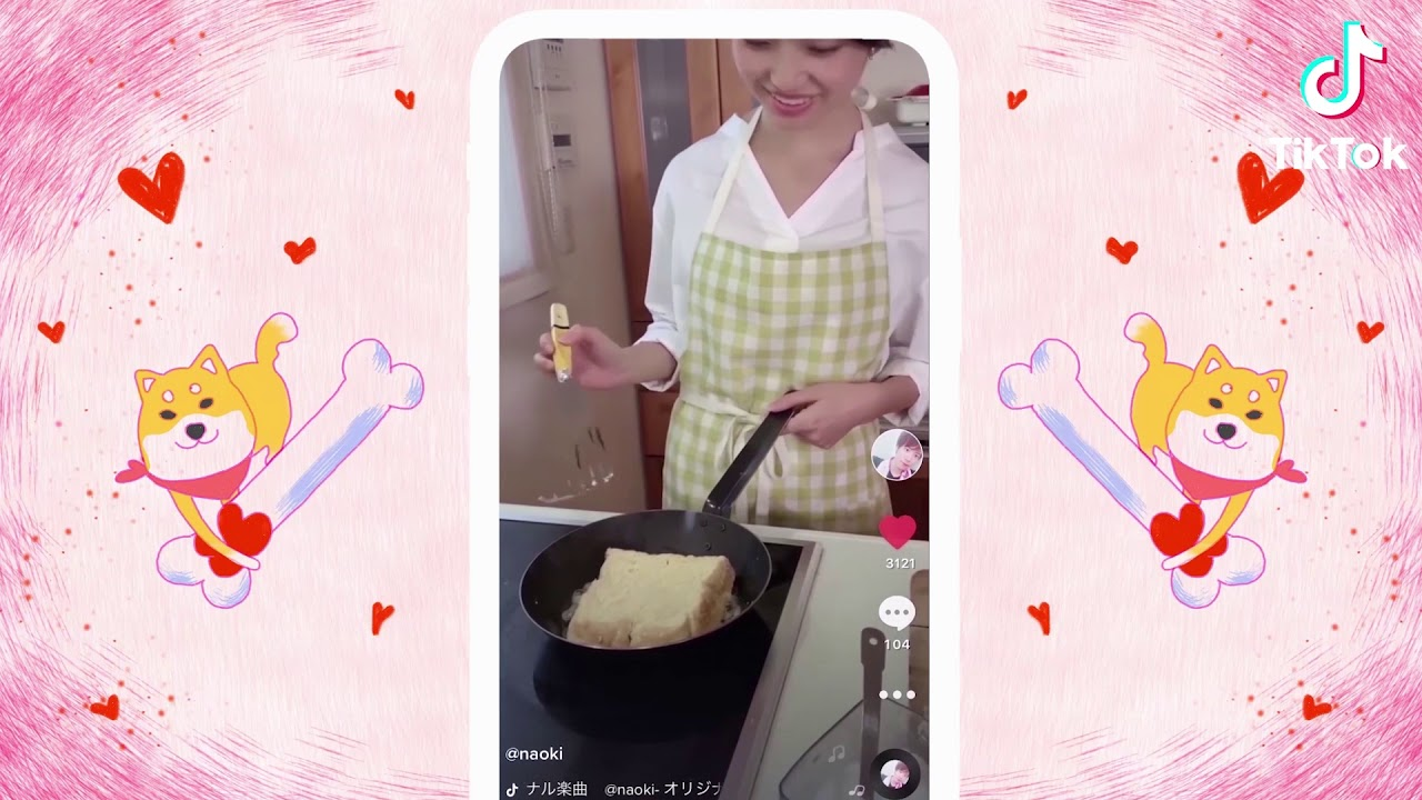TikTokバレンタインデー短編映画堂々登場!!