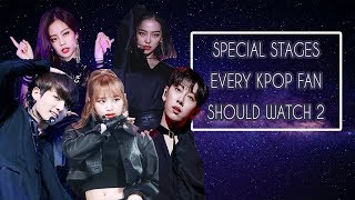 Special stages & Covers Every Kpop Fan Should Watch 2 (100+ stages)