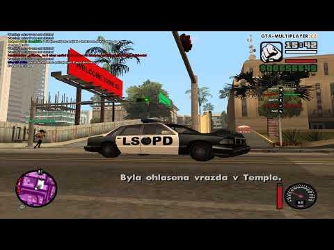 GTA San Andreas WTLSKO 1 Trolenie hračov na servery