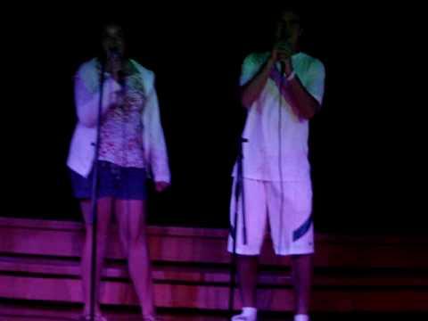 Matt & Christen Karaoke - Beautiful Soul  7.25.09