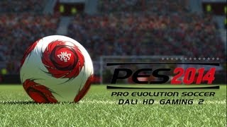 PES 2014 PC Gameplay FullHD 1080p