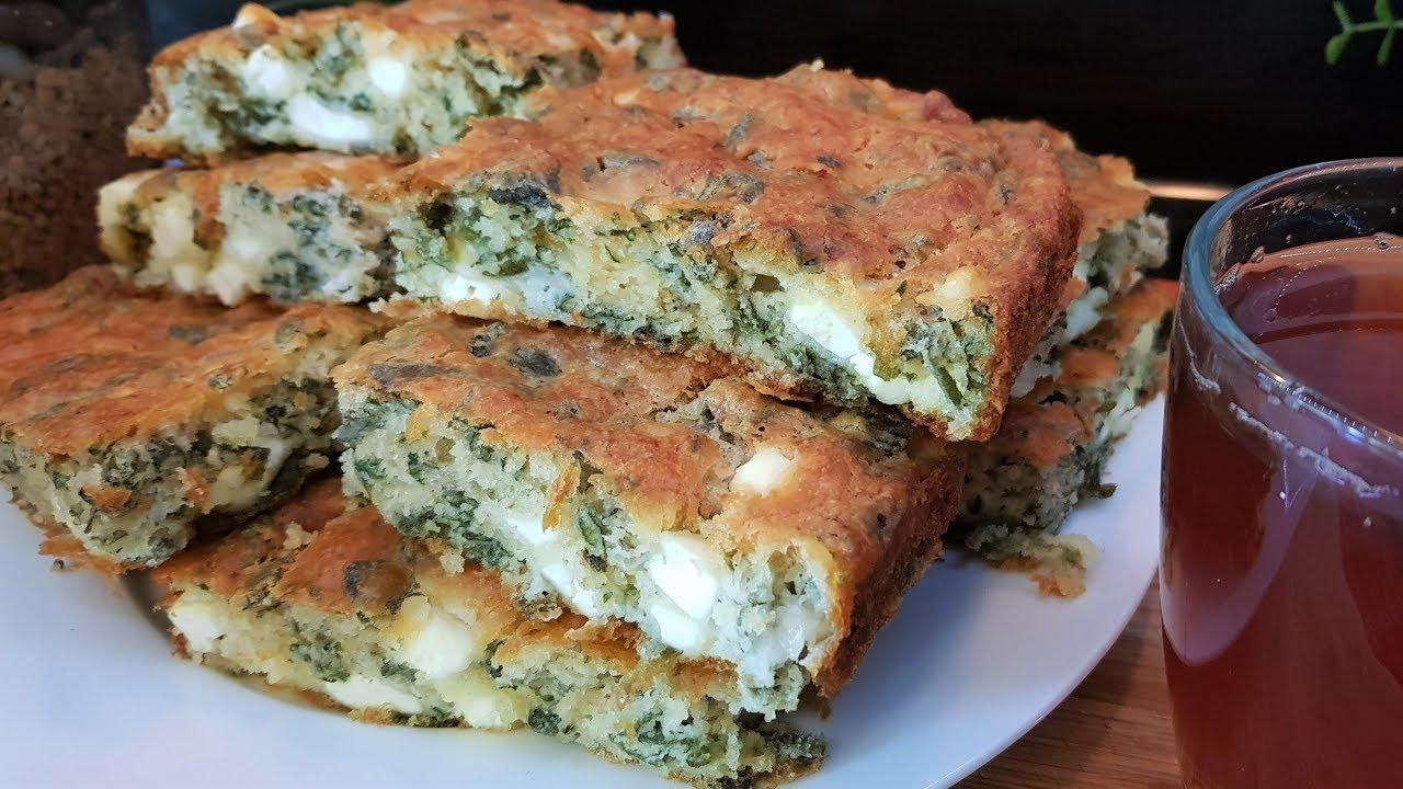 طريقة عمل كيكة مالحة بالجبن والزعتر