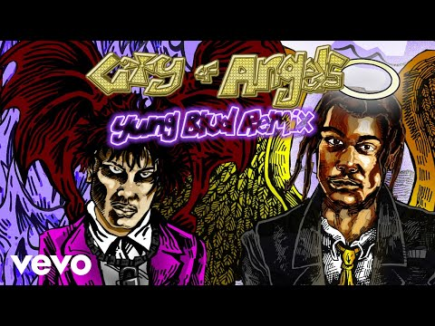 24kGoldn - CITY OF ANGELS (YUNGBLUD Remix - Official Audio) ft. YUNGBLUD