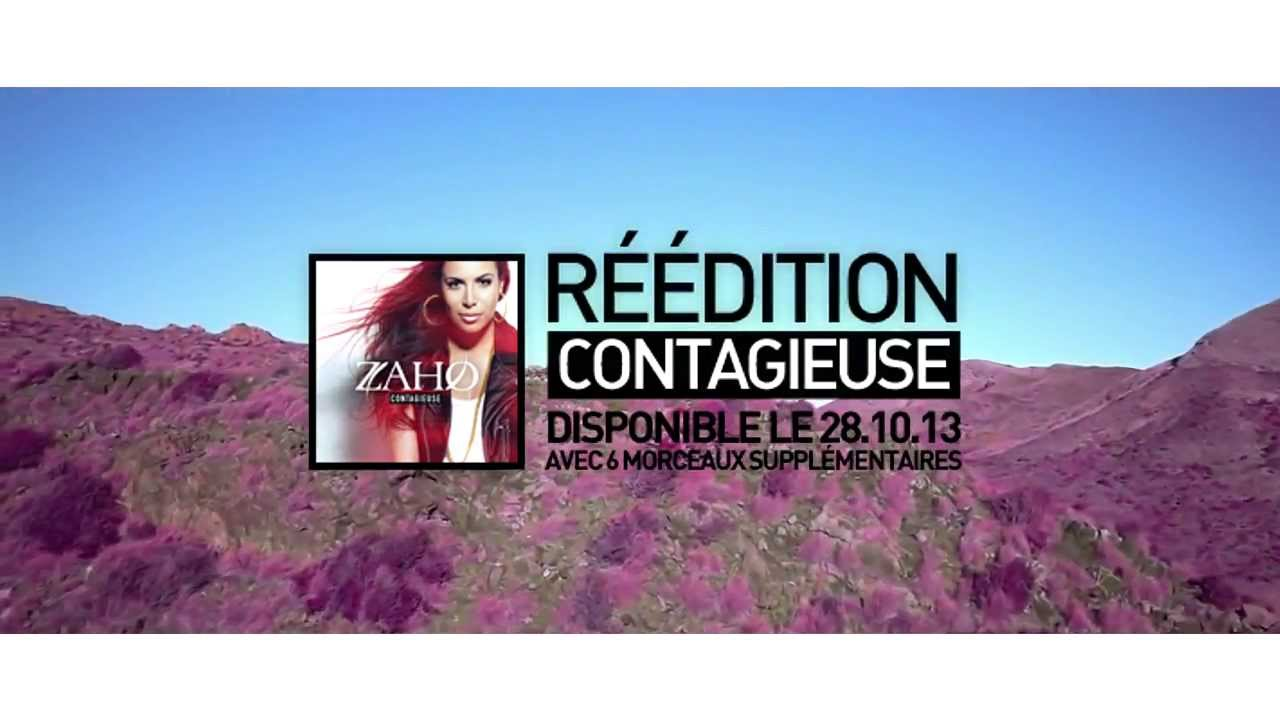zaho contagieuse reedition
