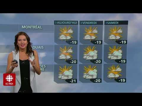 Météo 28 Décembre 2017 - RDI - Sandra Sirois