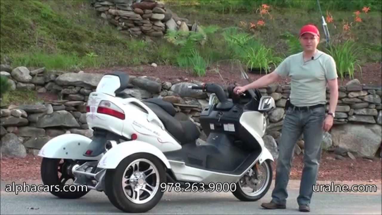 2011 suzuki burgman 650 trike, detailed overview, alphacars & ural