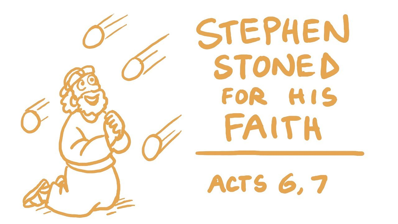 Download Stephen Stoned for His Faith Bible Animation (Acts 6-7)