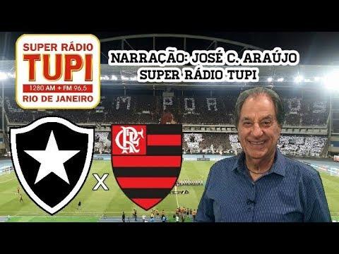 Resultado de imagem para Flamengo X Botafogo - Rádio Tup