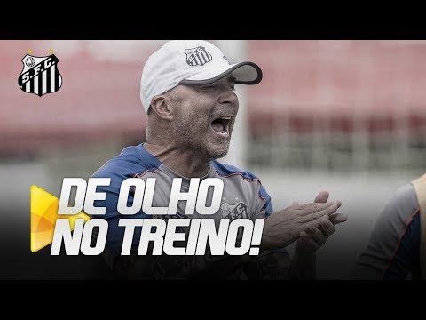 POR VAGA NA FINAL, SANTOS TREINA FIRME NO CT | DE OLHO NO TREINO (06/04/19)