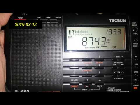 Maritime Weather Transmissions - Bangkok - Thailand (10000 k