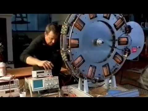 Bedini Wheel von Walter Meinl - Europas groesster Bedini