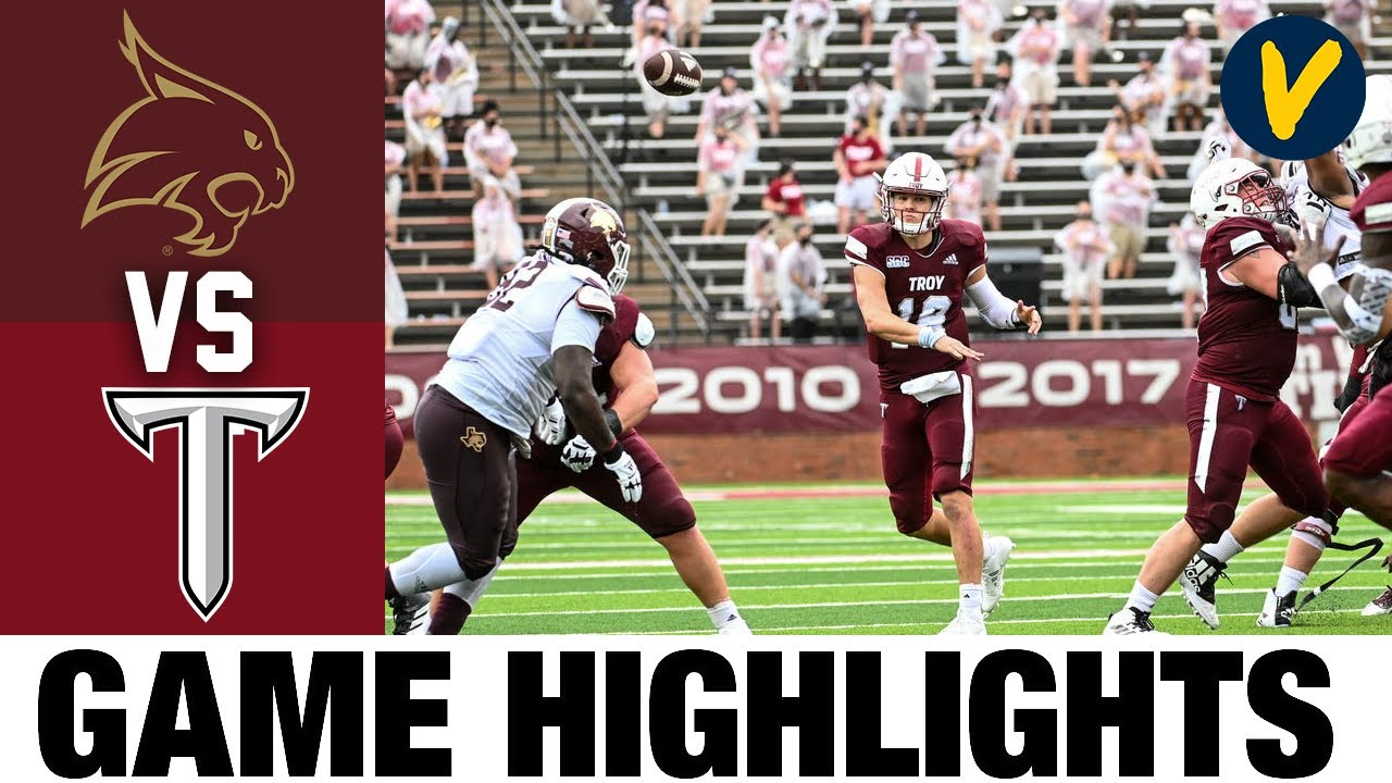 Texas State vs Troy Highlights | Week 6 College Football Highlights | 2020 College Football