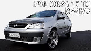 My First Car Review! | Opel Corsa 1.7 TDI