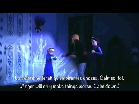 Do You Want To Build a Snowman? (Canadian French) (w/ subtitles and translation)