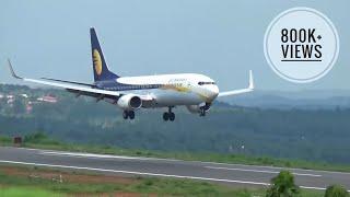 Jet airways landing at karipur airport