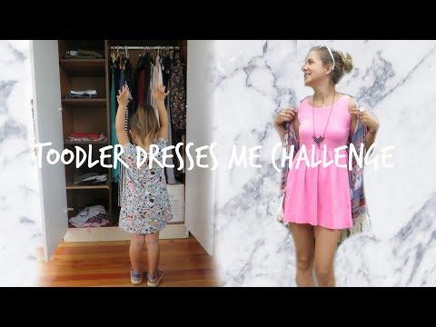 TOODLER DRESSES ME CHALLENGE - Debela Barbara