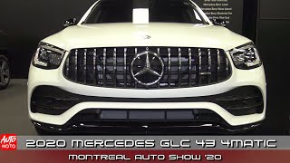 2020 Mercedes GLC 43 4Matic - Exterior And Interior - Montreal Auto Show 2020