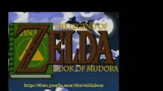 GHZ Pandora Handheld runs Zelda - Book of Mudora